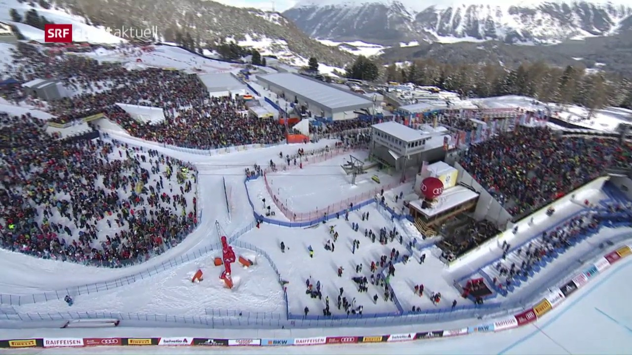In St. Moritz kommt es jetzt zum Super-Sonntag