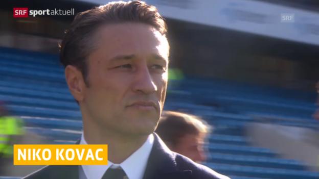 Video «Fussball: Kovac nicht mehr Kroatien-Coach» abspielen