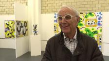 Video «Hans Rudolf Weber: ein Künstler mit später Berufung» abspielen