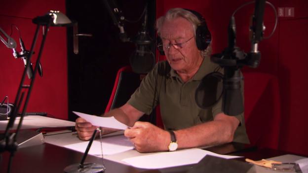 Video «Die Stimme von «Kasssensturz» geht in Pension» abspielen