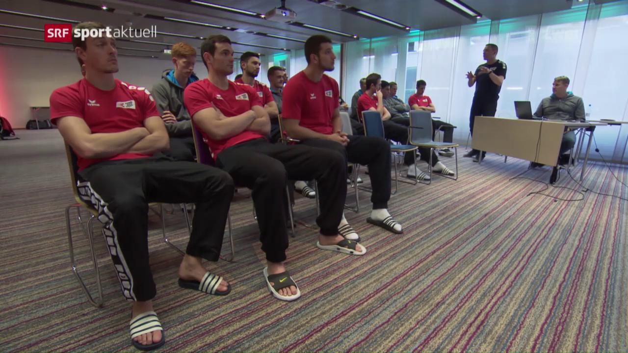 Handball-Nati vor dem Duell mit Deutschland