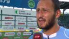 Video «Salvi: «Langweilig darf es einem Goalie nie werden»» abspielen