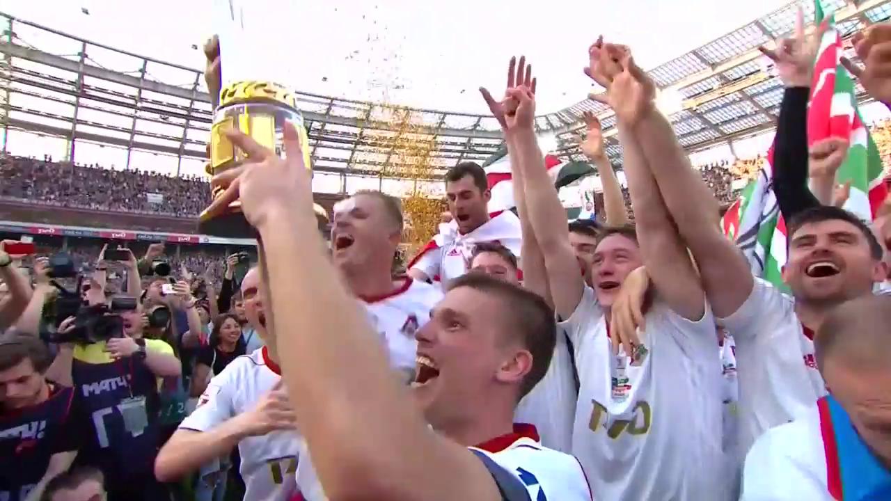 Lok Moskau: Siegtor und Meisterfeier innert weniger Minuten