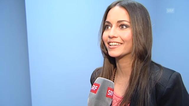 Nadine Vinzens über ihre «Prix Walo»-Nomination