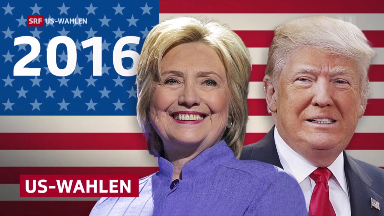 TV-Wahldebatte zwischen Hillary Clinton und Donald Trump, 20.10.2016