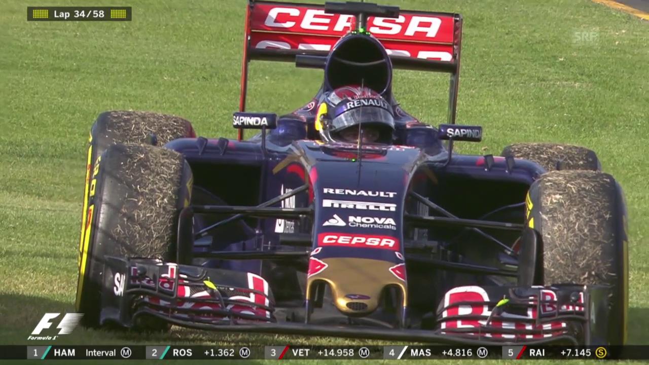 Formel 1: GP Australien, Ausfall Verstappen