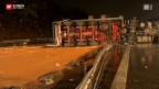 Video «14'000 Liter Olivenöl auf der Autobahn» abspielen