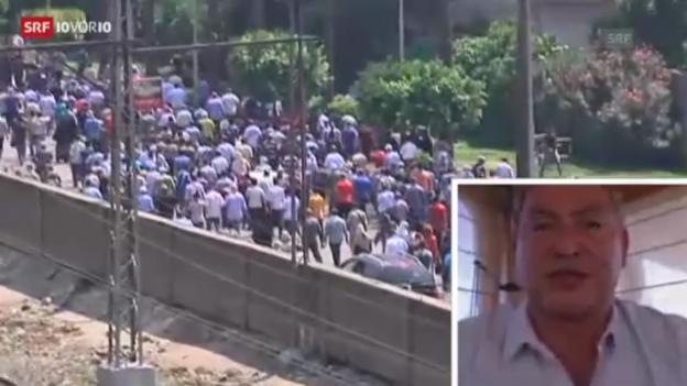 Video «Sawiris: «Muslimbrüder wollen als Märtyrer gesehen werden»» abspielen