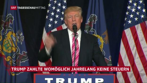 Video «Trump hat ein Steuerproblem» abspielen