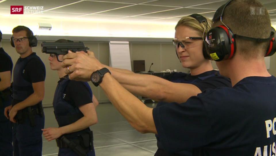 Die Polizeischule - Fordernder Polizeischul-Alltag