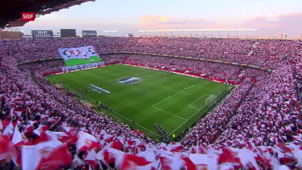 Video «Zusammenfassung Sevilla-Schachtar Donezk» abspielen