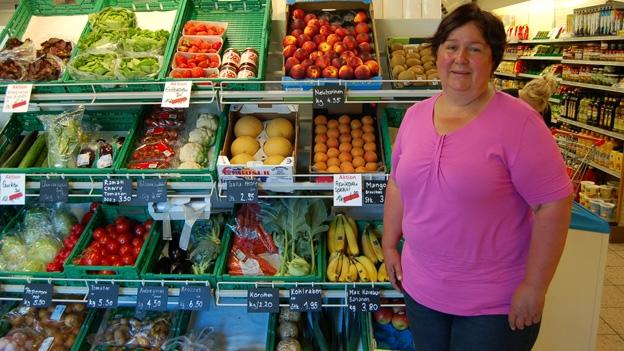 Bei Renate Hollenstein im Dorfladen Mühlrüti