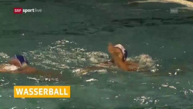 Video «Eine weitere Trophäe für Tessins Wasserballer» abspielen