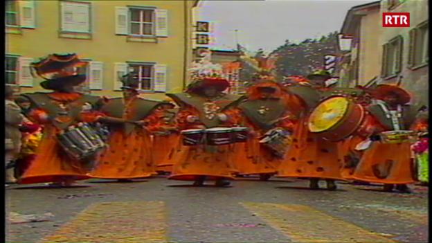 Laschar ir video «Gievgia grassa 1988 a Domat»