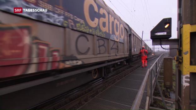 Video «Güterverkehr fährt im Takt» abspielen