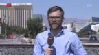 Video «FOKUS: Live-Schaltung zu Peter Düggeli in Las Vegas» abspielen
