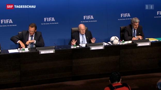 Video «Blatter entlastet» abspielen