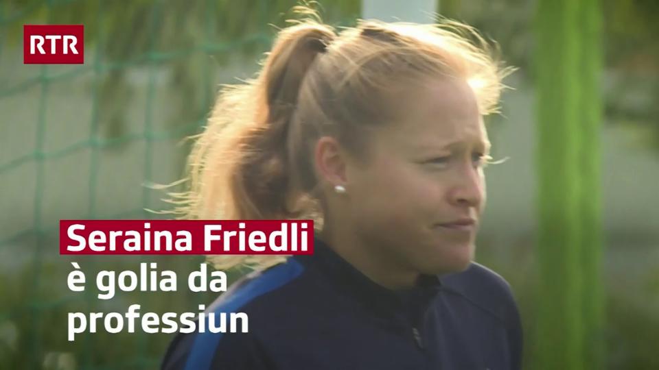 Seraina Friedli è profi da ballape en l'Italia