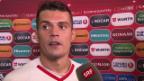 Video «Xhaka: «Sind ein sehr charakterstarkes Team»» abspielen