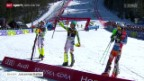 Video «Ski alpin: Slalom der Männer in Kranjska Gora» abspielen