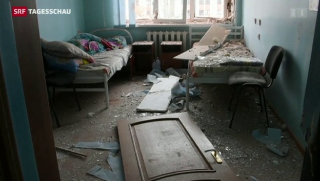 Video «Neue Gewaltexzesse in der Ostukraine» abspielen