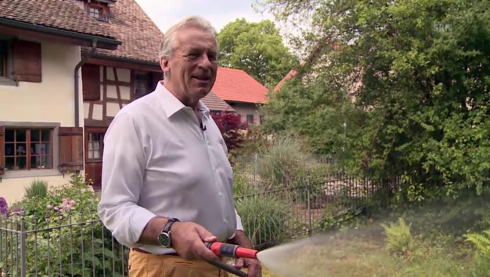 Pepe Lienhard und sein wild-romantischer Garten