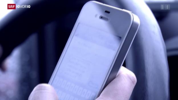 Video «Unfallrisiko Handy» abspielen