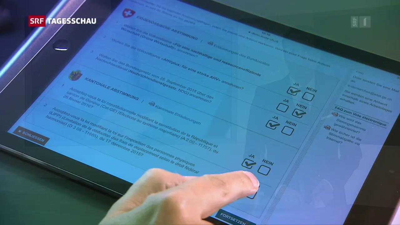 Seilziehen um E-Voting