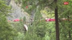 Laschar ir video «2 uras suenter l'accident - lavurs da salvament»
