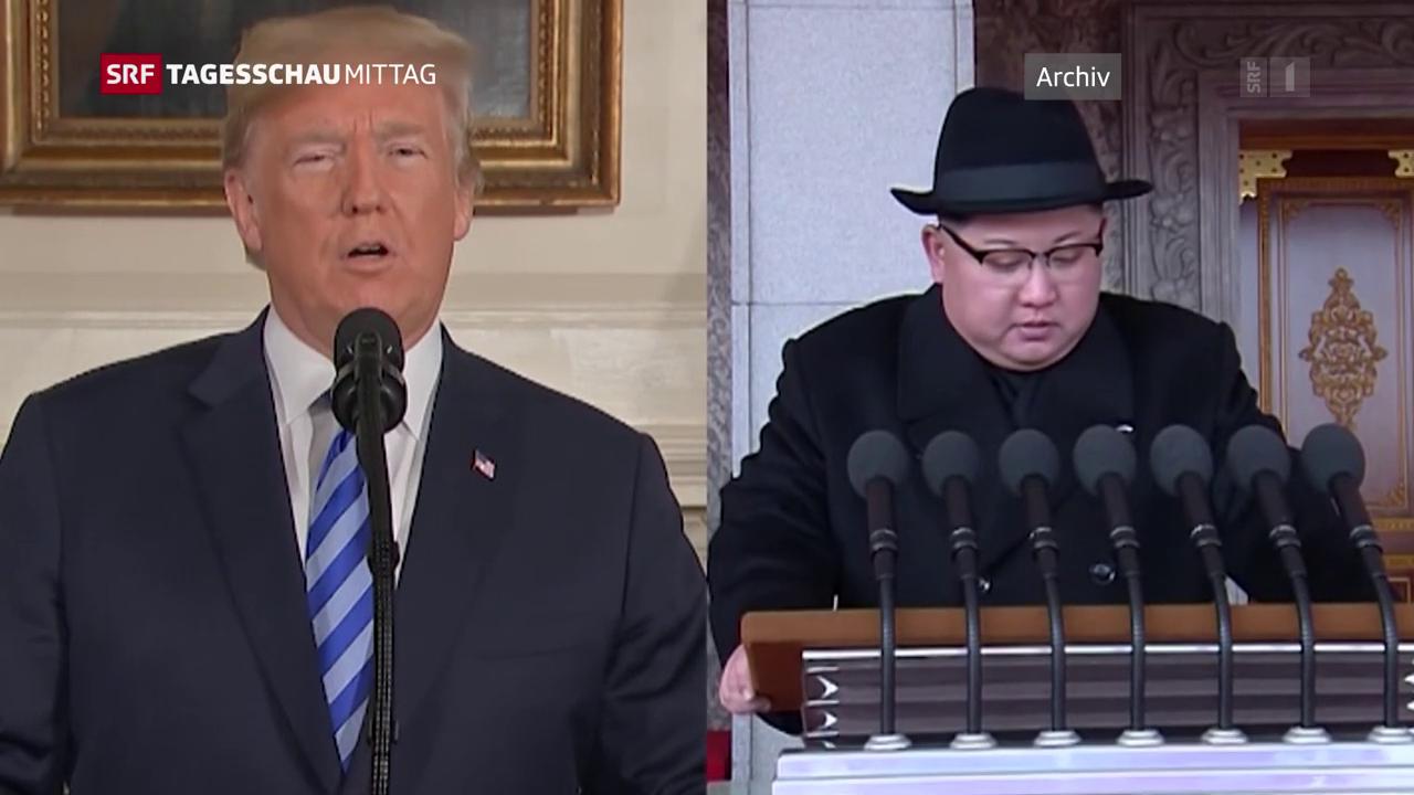 Der Ton zwischen Pjöngjang und Washington wird schärfer.