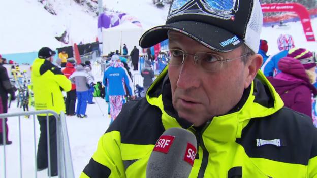 Video «Ski: Weltcup Wengen, Bilanz von OK-Präsident Urs Näpflin» abspielen