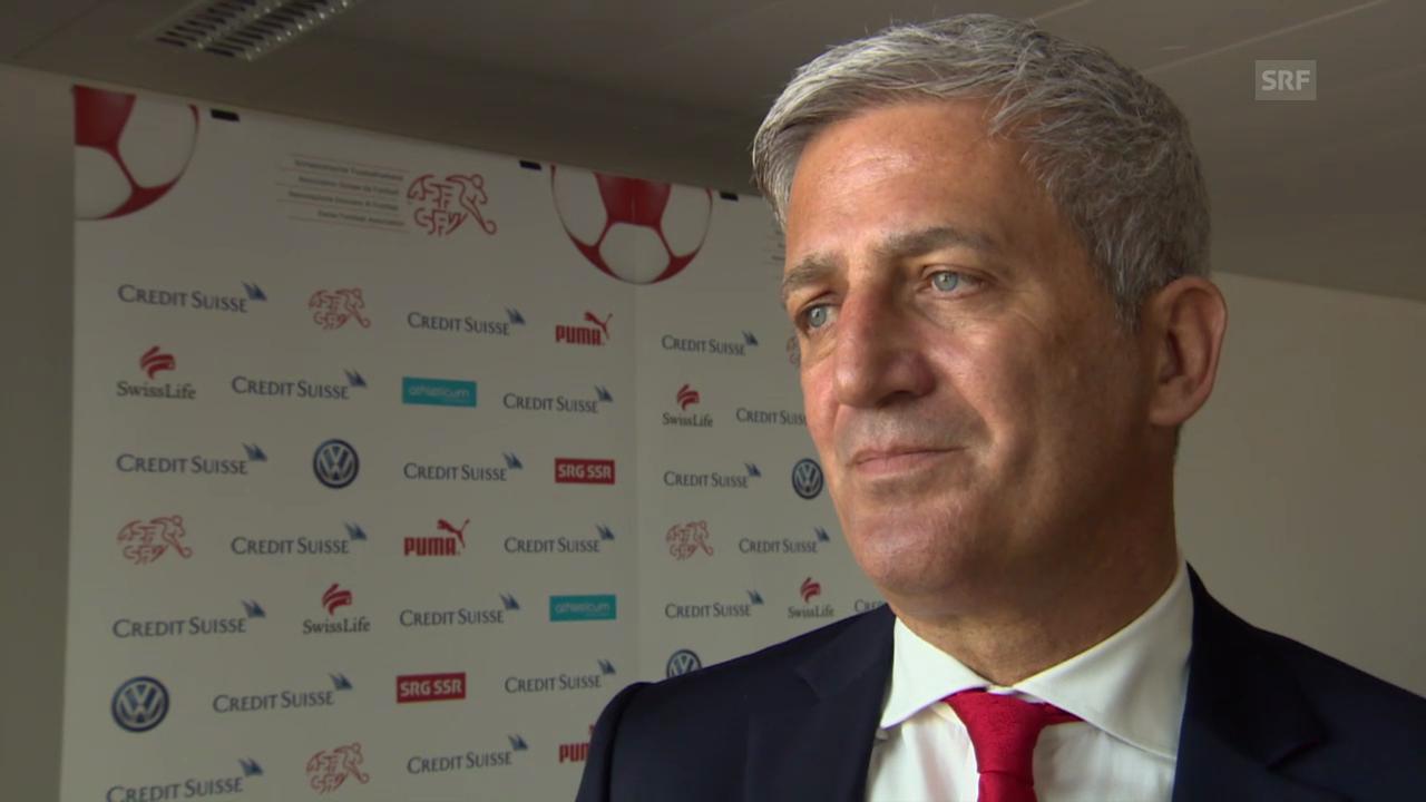 Fussball: EURO-Qualifikation, Vladimir Petkovic