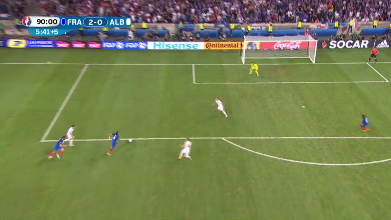 Live-Highlights: Frankreich - Albanien