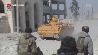 Video «Syrische IS-Hochburg zurückerobert » abspielen