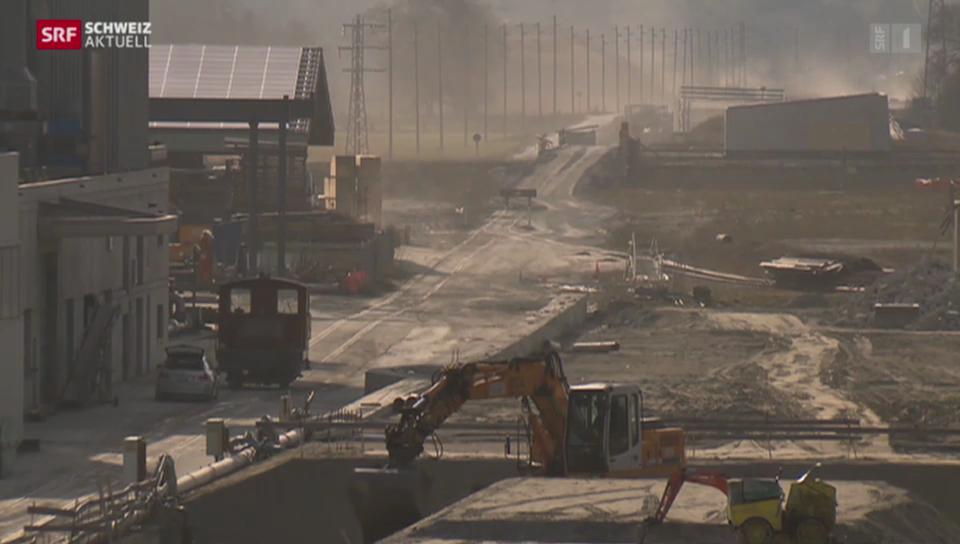 Autobahnbau im Oberwallis in der Kritik