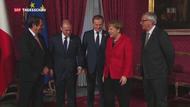 Video «EU-Gipfel will illegale Zuwanderung stoppen» abspielen