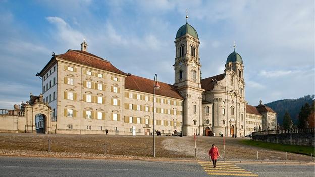 Glockengeläut der Klosterkirche in Einsiedeln