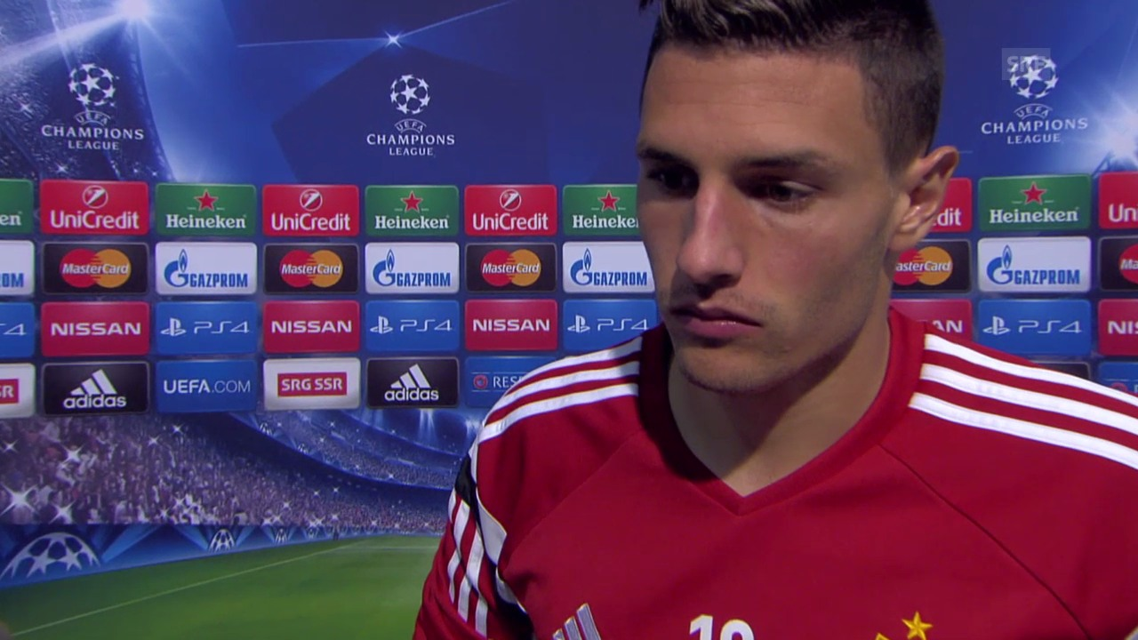Fussball: Champions League, Interview mit Fabian Schär