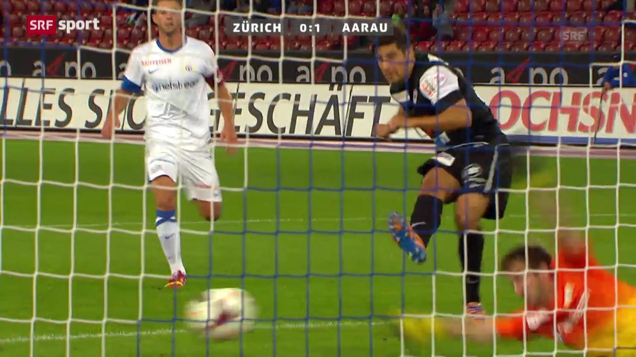 Spielverderber Aarau gewinnt beim FCZ