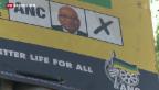 Video «ANC zeigt sich vor Wahlen in Südafrika siegessicher» abspielen