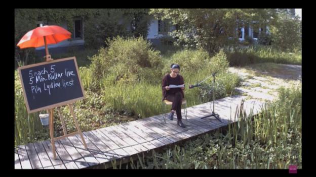 Video «Pilu Lydlow (Lesung)» abspielen