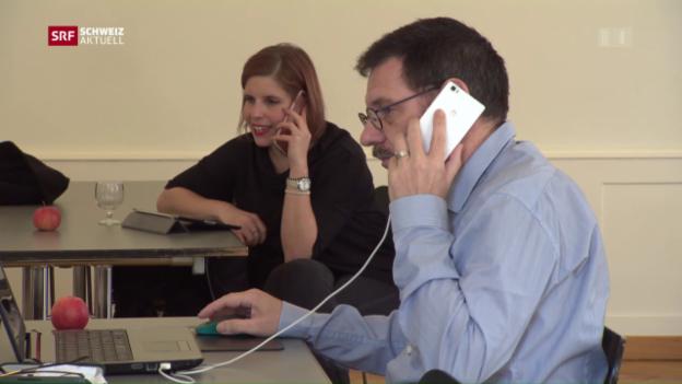 Video «Was nützen Telefonkampagnen bei Wahlen?» abspielen