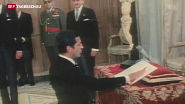 Video «Spaniens Ex-Präsident Alfonso Suárez ist gestorben» abspielen