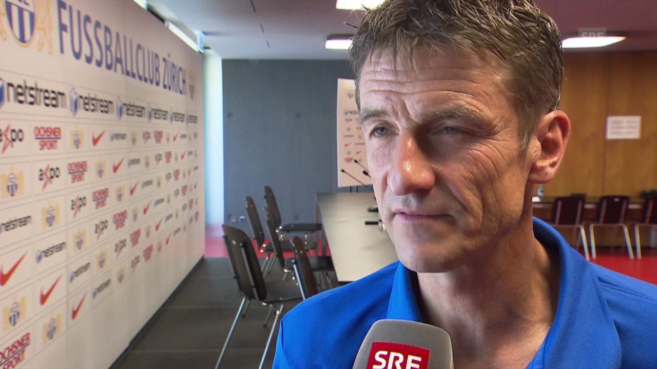 Fussball: FCZ-Trainer Urs Meier zum Derby gegen GC