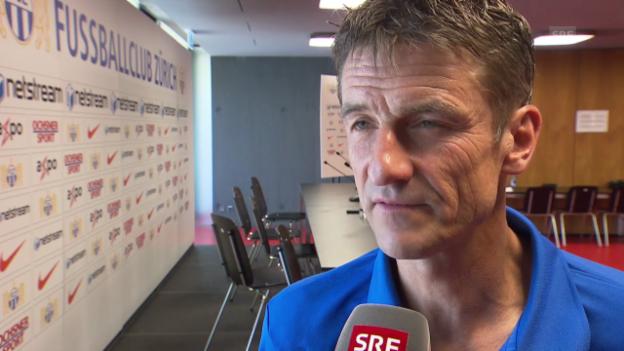 Video «Fussball: FCZ-Trainer Urs Meier zum Derby gegen GC» abspielen
