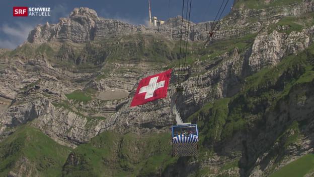 Video «Die grösste Schweizer Fahne» abspielen