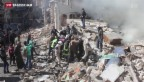 Video «Anschlag auf Geheimdienstgebäude in Aleppo» abspielen