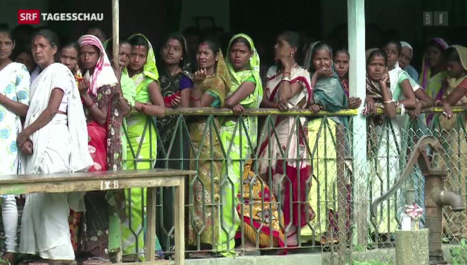 Indiens Demokratie-Übung ist angelaufen
