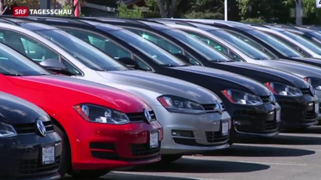 Video «VW ruft 8,5 Millionen Fahrzeuge zurück» abspielen
