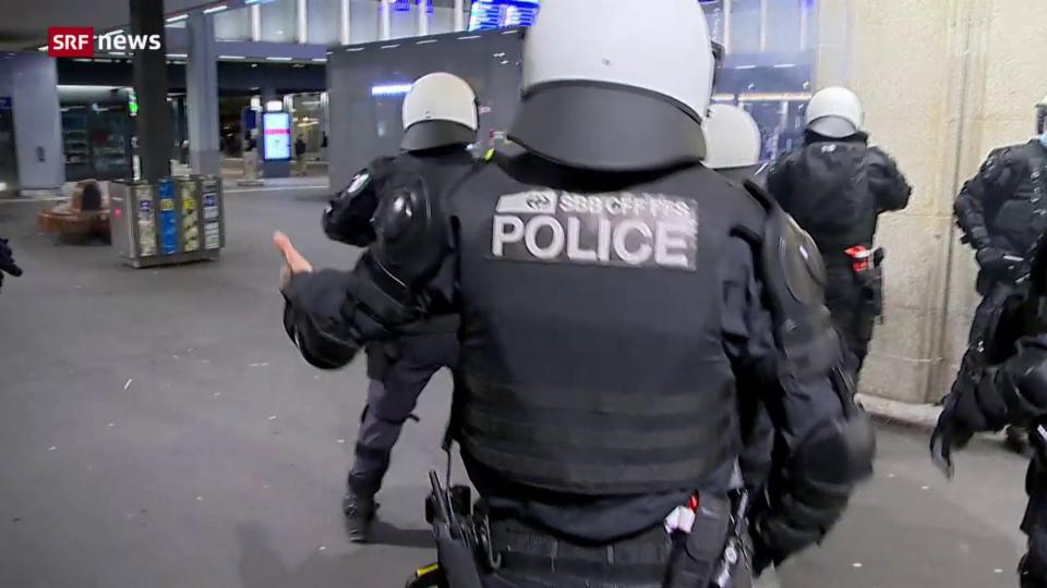 Aus dem Archiv: Polizei immer wegen Covid öfter angefeindet